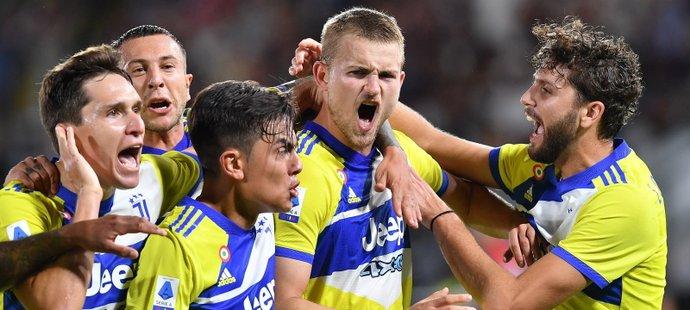 Juventus konečně slaví výhru