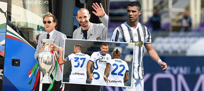 Itálie ovládla EURO, Serie A ale krvácela - Inter válí navzdory finanční krizi, Ronaldo je pryč. Jak se s tím liga popasuje?