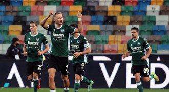 Juventus padl se Sassuolem, Barák vydřel Veroně gólem bod