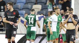 Slavia v Haifě: tým bez energie, rána vedle s Plavšičem a venkovní prohry