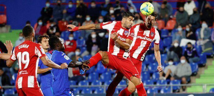 V závěru zápasu s Getafe rozhodl Luis Suárez