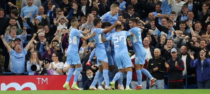 Liga mistrů ONLINE: City vedou, obrat AC v Liverpoolu, Bruggy - PSG 1:1