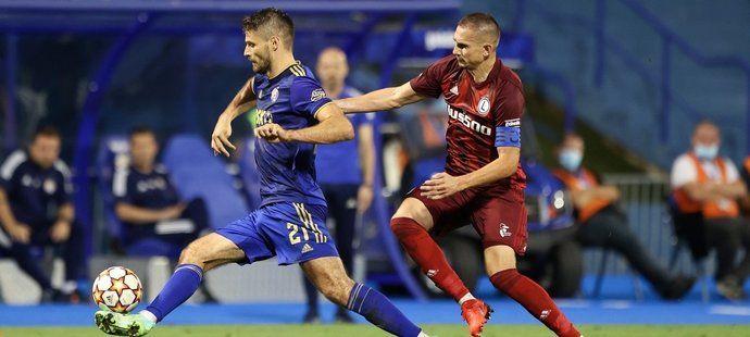 Dinamo Záhřeb se v úvodním utkání rozešlo s Legií nerozhodně 1:1