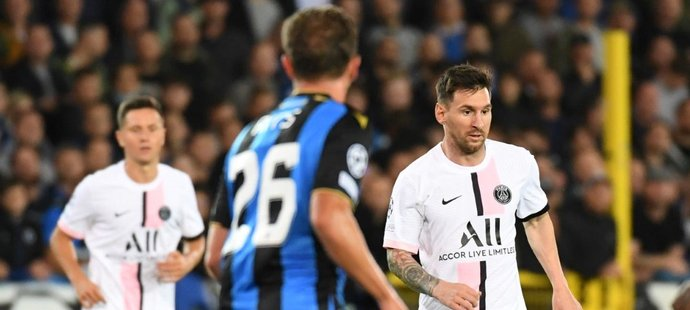 Expert Owen šokoval: PSG je s Messim horší. Gólman Brugg byl bez práce