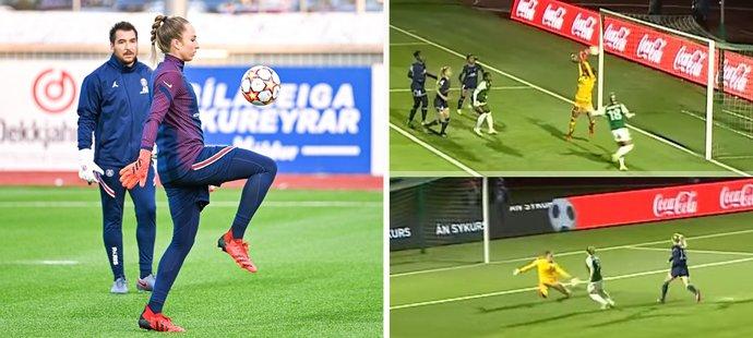 Barbora Votíková má za sebou vítězný debut za PSG. Byla u výhry 2:0 v Lize mistryň nad Breidablikem