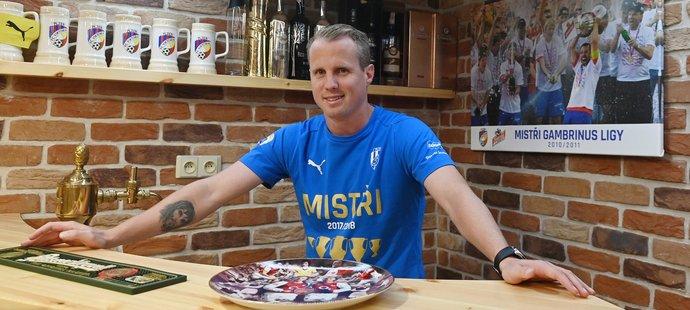 Dlouholetý obránce Viktorie Plzeň David Limberský během rozhovoru pro Sport Magazín