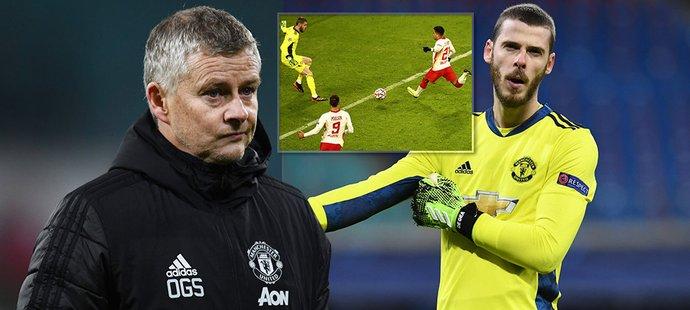 Manchester United končí v Lize mistrů, kritice čelí kouč Solskjaer i brankář De Gea