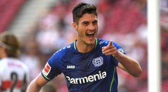 Skvělý Schick! Leverkusenu vystřelil vítězství, pálil počtvrté v řadě