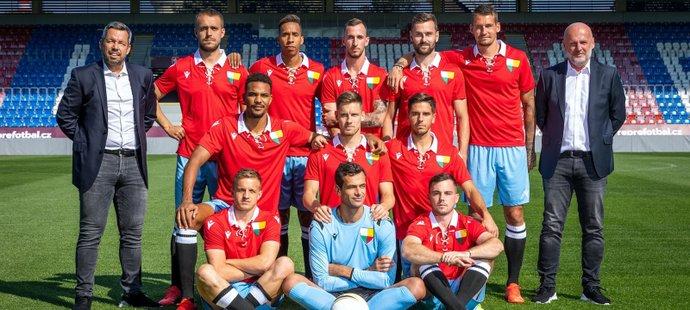 Fotbalisté Viktorie Plzeň nastoupí do výročního utkání proti Českým Budějovicím ve speciálních retro dresech