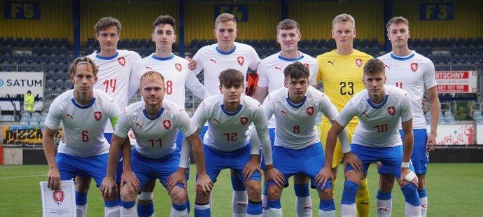 Čeští fotbalisté do 19 let se střetli v Opavě s Dánskem