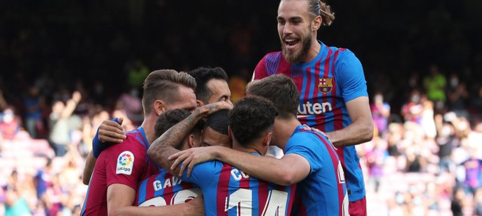 Barcelona si jasně poradila s Levante