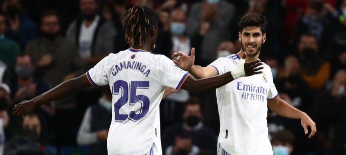 Real Madrid slaví výhru nad Mallorkou