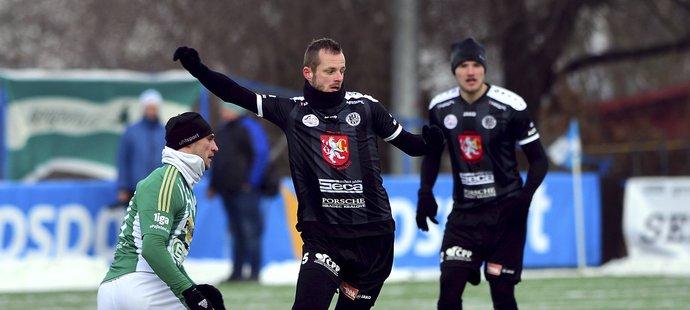 Jevgenij Kabajev vstřelil jeden z gólů Bohemians v duelu s Hradcem Králové v rámci Tipsport ligy.