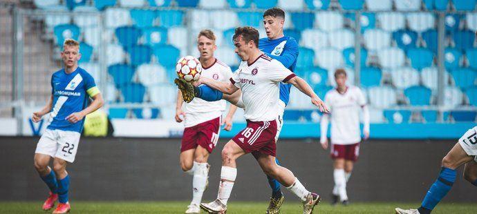 Sparta v juniorské Lize mistrů padla s maďarským MTK Budapešť