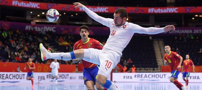 Čeští futsalisté podlehli Španělsku a MS končí