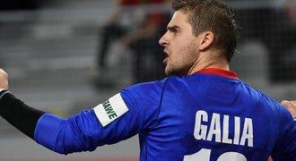 Rána pro házenkáře, brankář Galia přijde o EURO. A asi ukončí kariéru