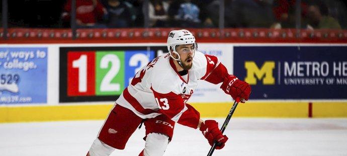 Filip Hronek ve své první sezoně v AHL září, dočká se brzy pozvánky do týmu Red Wings?