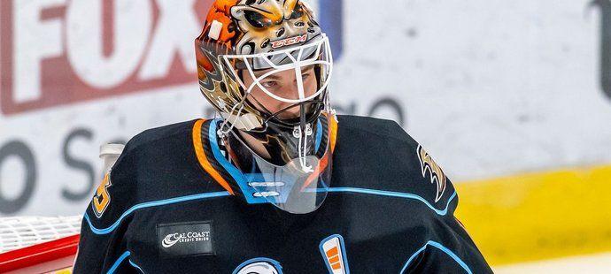 Lukáš Dostál v dresu San Diego Gulls v AHL