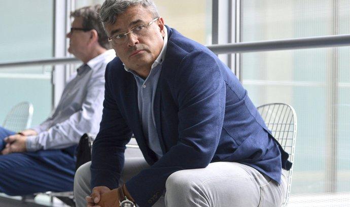Krizový manažer Richard Benýšek.