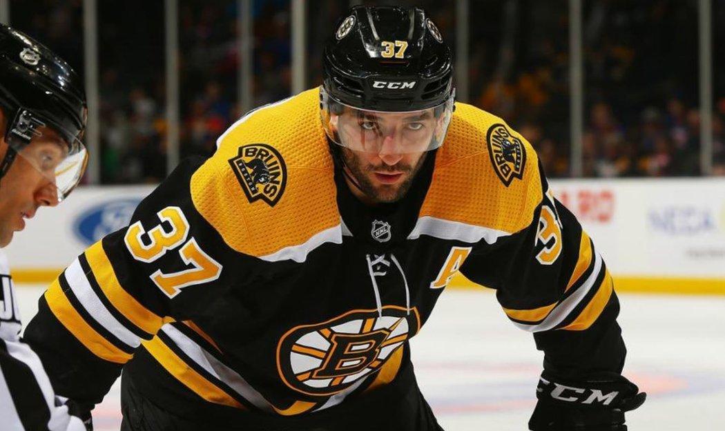 Útočník Patrice Bergeron se po Zdenu Chárovi stává 20. kapitánem v historii Boston Bruins