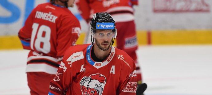 David Krejčí při svém dalším startu za Olomouc