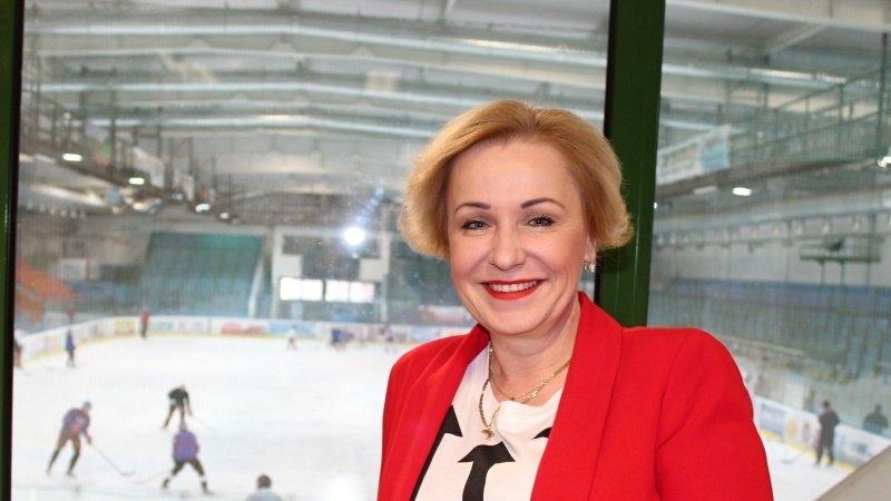 Jana Gajošová, šéfka hokeje v Hodoníně
