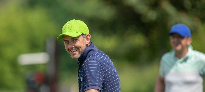 Bývalý hokejový obránce Jiří Vykoukal je organizátorem Hokej Charity Golf Cupu