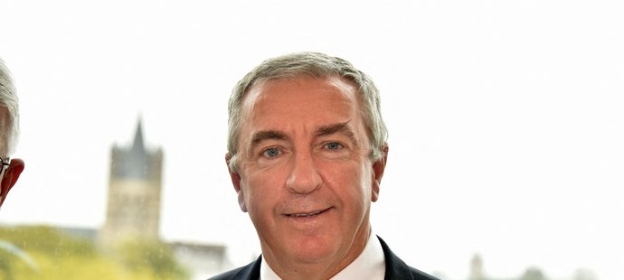 Nový předseda IIHF Luc Tardif