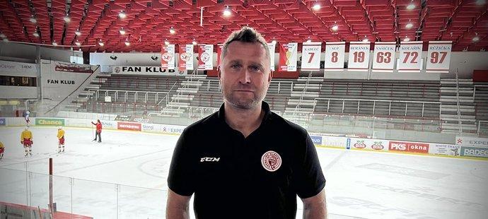 Klubová ikona Slavie a nyní i její nový sportovní manažer Jaroslav Bednář