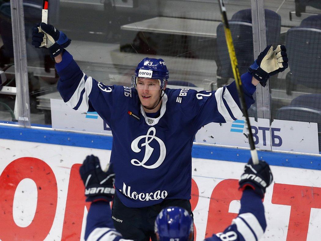 Český útočník Dmitrij Jaškin se oficiálně vrací do NHL! Dynamo Moskva potvrdilo jeho konec v KHL