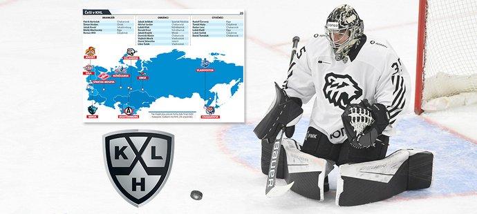 Startuje nový ročník KHL, na startu je i 20 českých hráčů