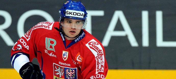 Hokejový obránce Marek Trončinský