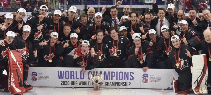 Kanadští hokejisté jsou juniorskými mistry světa