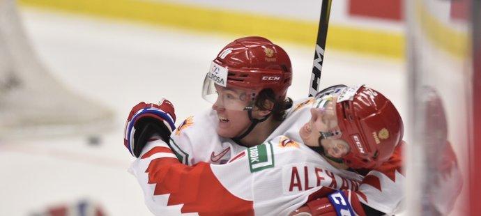 Ruská gólová radost