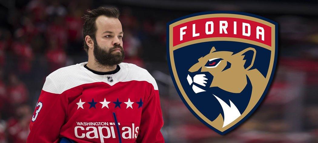 Obránce Radko Gudas odchází z Washingtonu na Floridu. S Panthers podepsal smlouvu na tři roky