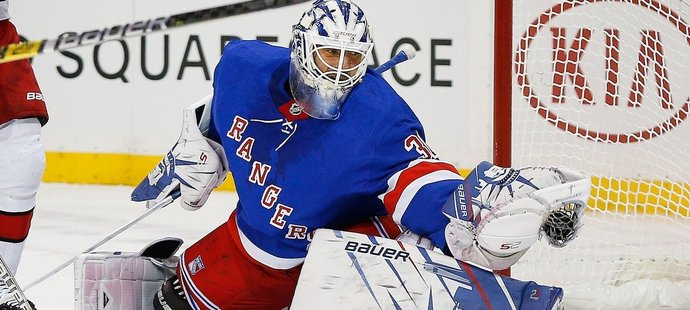 """Pocta pro """"Krále Henrika"""". Rangers vyvěsí Lundqvistovu 30 pod strop haly"""