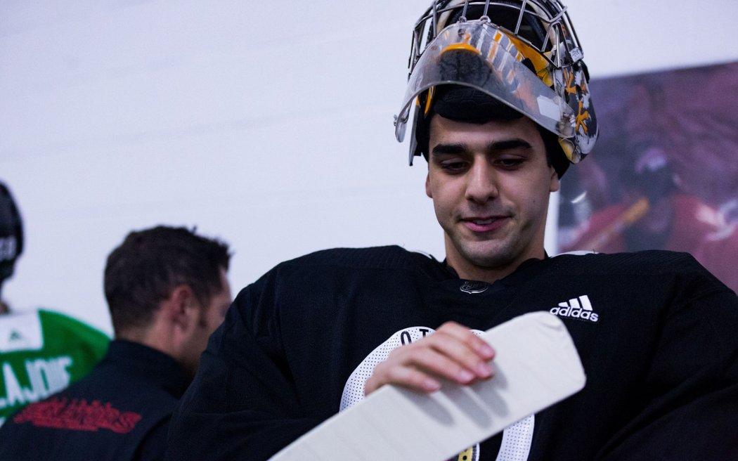 19letý Kanaďan Kevin Mandolese byl v minulé sezoně s úspěšností zákroků 92,5 procenta nejlepším gólmanem QMJHL.