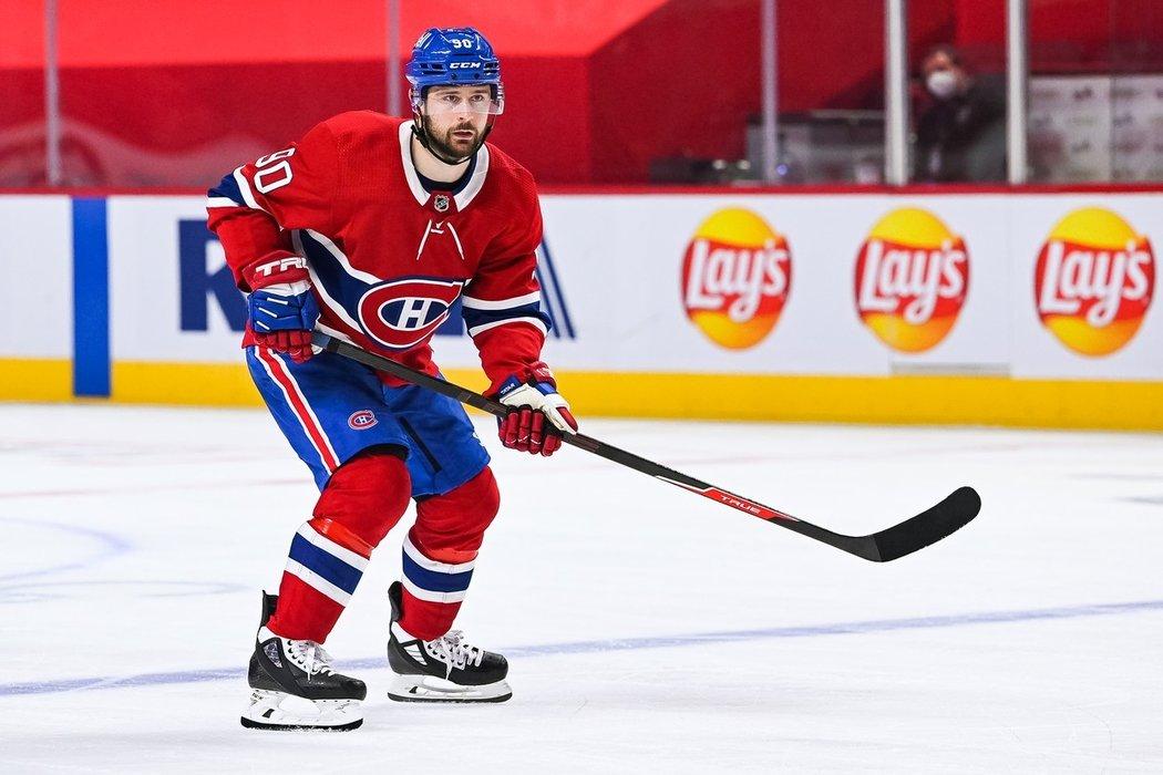 Slovenský útočník Tomáš Tatar v dresu Montrealu