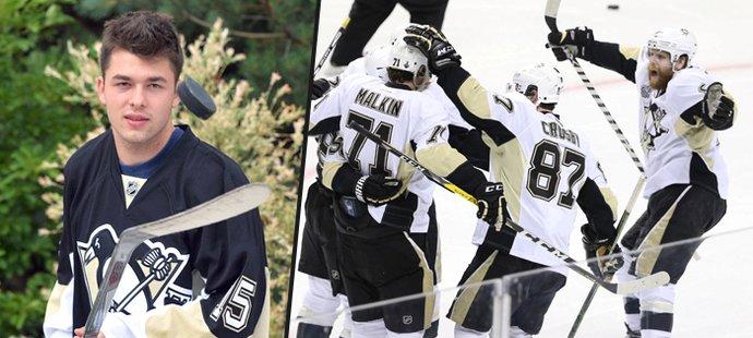 Dominik Simon sleduje výkony Penguins z dálky