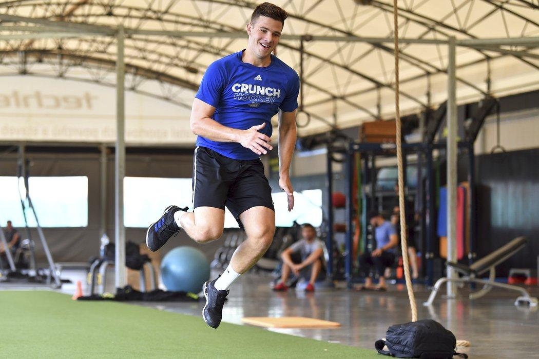 Dominik Mašín během letního tréninkového drilu