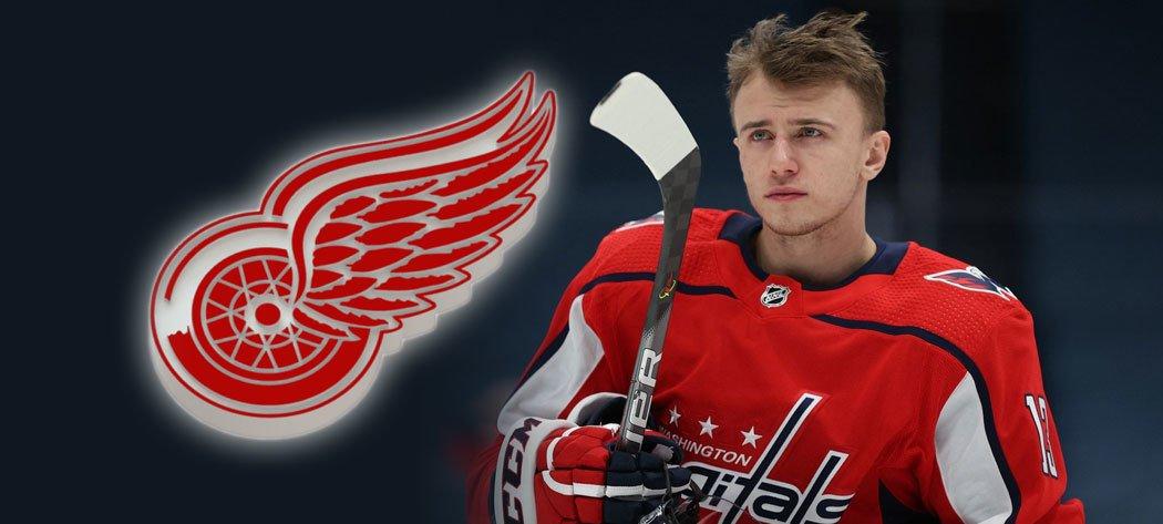 Jakub Vrána byl v NHL vytrejdován, nově bude působit v Detroitu