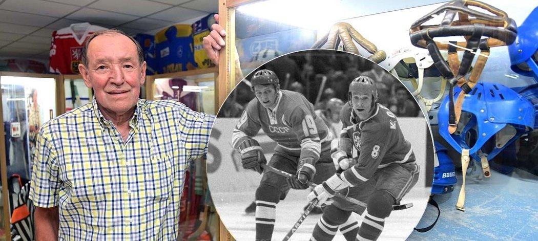 Legendární hokejový útočník a mistr světa z Prahy 1972 Jiří Kochta oslavil 75. narozeniny