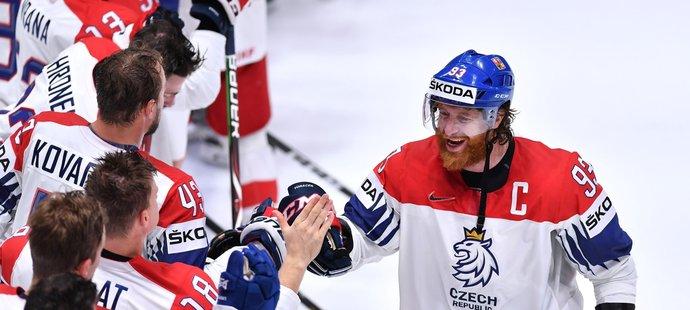 Jakub Voráček v utkání se Švýcarskem zářil
