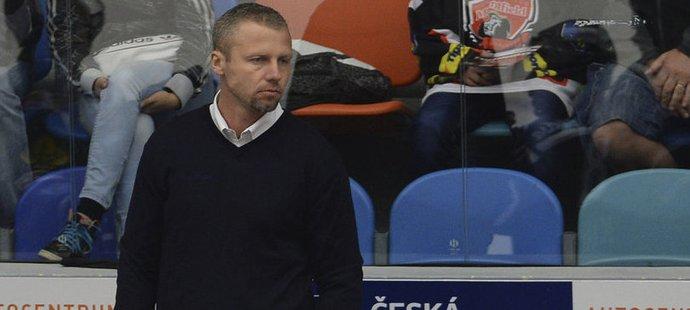 Jakub Petr na lavičce Vítkovic ještě jako asistent