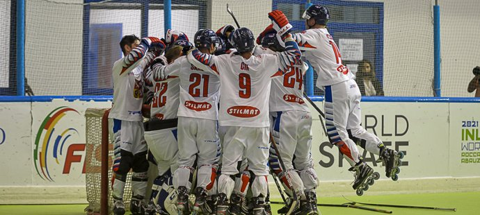 Čeští hokejisté ovládli mistrovství světa v inline hokeji kategorie FIRS