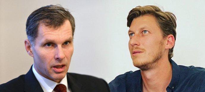 Šéf ČOV Jiří Kejval si s předsedou NSA Filipem Neusserem moc nerozumí