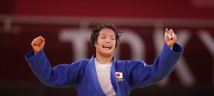Zlatá medailistka v judu Uta Abeová