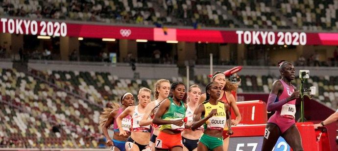 Ženský závod na 800 metrů