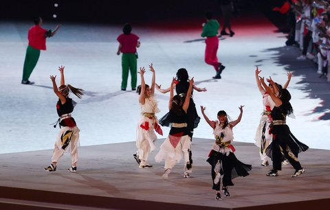 Ceremoniál obohatil i koncert a tanečníci