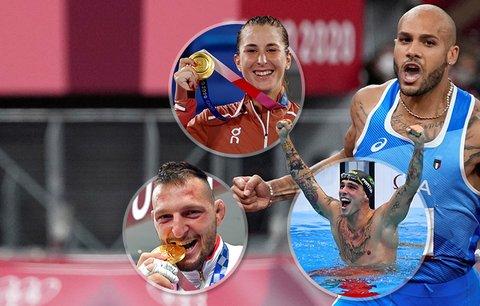 Hrdinové LOH v Tokiu: sprinter Jacobs, tenistka Bencicová, plavec Dressel i český judista Krpálek